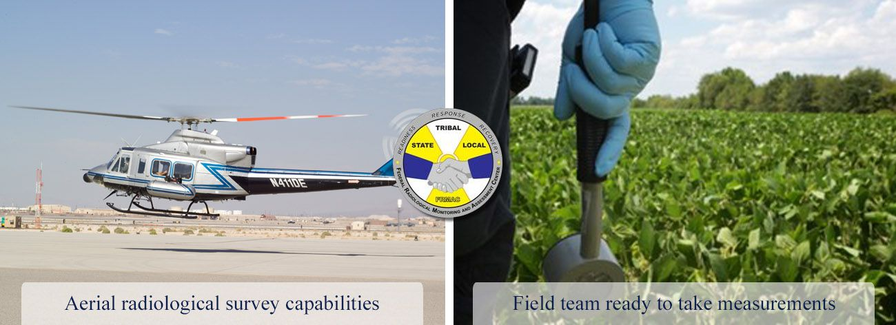 Federal Radiological Monitoring and Assessment Center banner