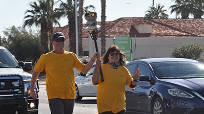 corporate challenge torch relay