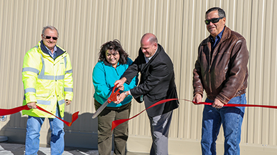Data Center ribbon cutting