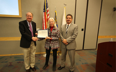 Klotz recognized Nevada Field Office Deputy Manager Carol Sohn
