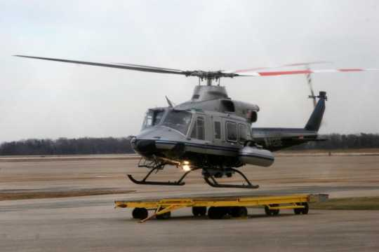 Remote Sensing Laboratory's helicopter